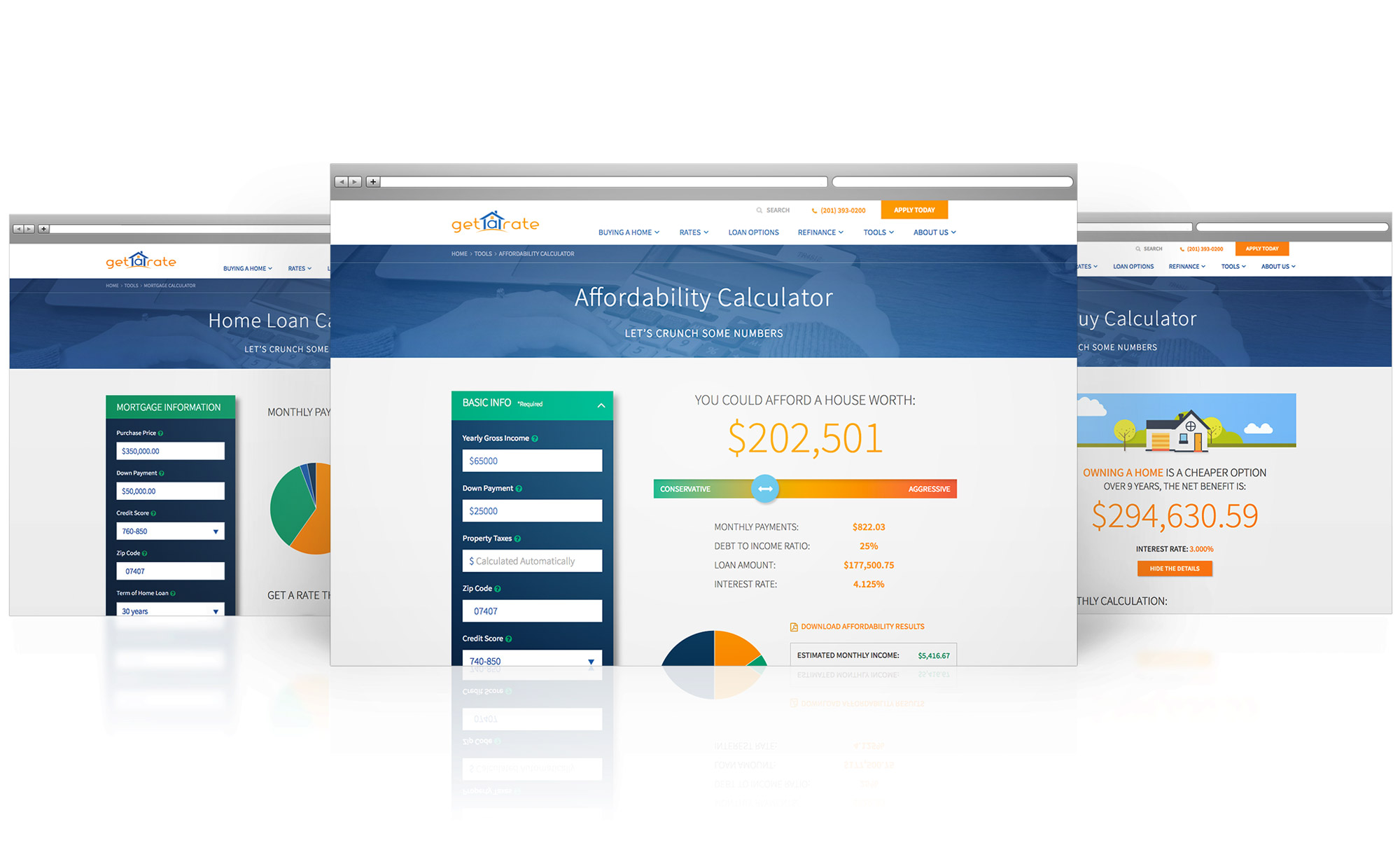 Get A Rate image: Affordability Calculator
